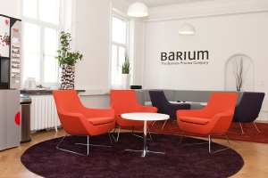 The Barium Lounge, where we meet clients and parnters