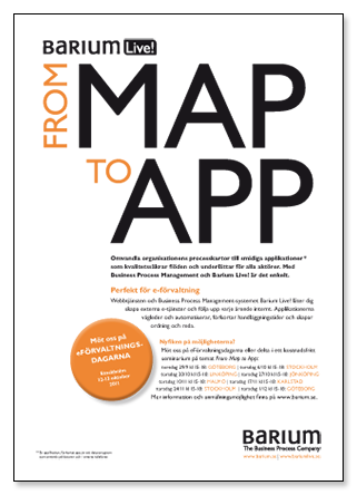 Barium: From Map To App (magazine ad)